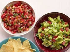 50 Salsa and Guacamole Recipes from FoodNetwork.com