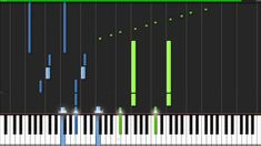 I See Fire - Ed Sheeran - The Hobbit [Piano Tutorial] (Synthesia)