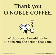 Thank You Oh Noble Coffee