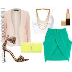 Pastels & Neon, created by adoremycurves on Polyvore