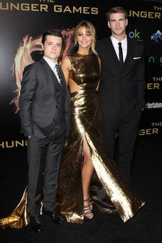 Josh! Liam! Wes! Hunger Games hunks heat up premiere