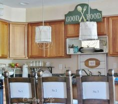 How to create lampshades that give country charm to a rental home.