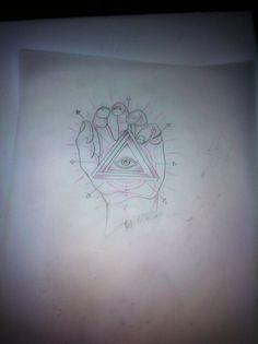 Tattoo flash #hand tattoo flash #neo traditional tattoo #eye tattoo flash