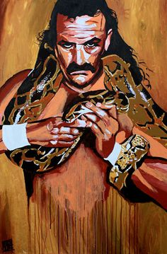 Jake 'The Snake' Roberts is easily one of the most well-known names in the history of professional wrestling.  l #WWE
