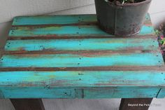 small pallet coffe table