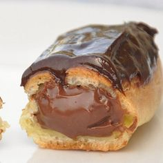 . Chocolate Filled Eclairs Recipe from Grandmothers Kitchen.