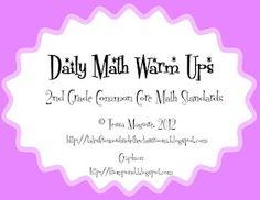 2nd Grade Common Core Math