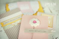 simple Mother's Day card ideas