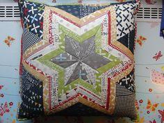 reunions, inspiration, star pillow, quilts, papers, minis, starflow pillow, quilti, pillows