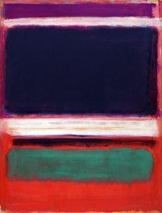 Mark Rothko. No. 3 (1949).