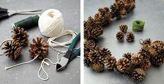 How to Make a Pinecone Garland | Ballard Designs Style Studio :)
