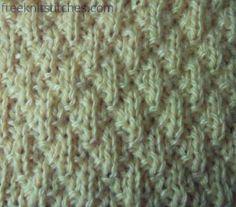 KNITTING STITCHES on Pinterest Stitch Patterns, Knitting Patterns and Knit ...