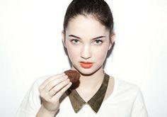 Lookbook Cookbook's Chocolate Button Cookies