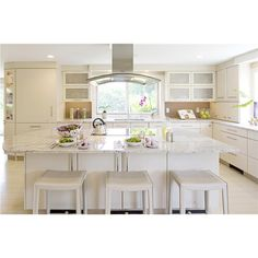 An all white kitchen wonder!