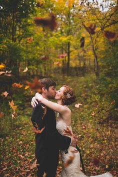 Gorgeous fall weddin