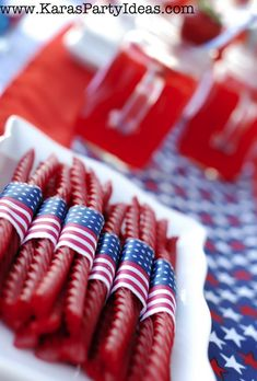 4th of July Party Ideas! - Party on a Budget Ideas - Kara's Party Ideas KarasPartyIdeas.com