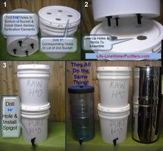 Make Your Own Homemade Water Filter & Purifier