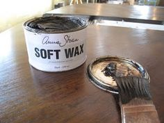 Using Annie Sloan wax over stain