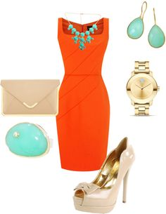 """""""Cute outfit idea for a cocktail party"""" by velkis-rios on Polyvore"""