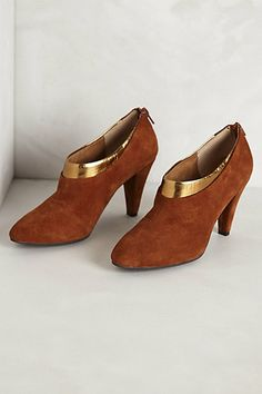 benissa dipped booties / anthropologie