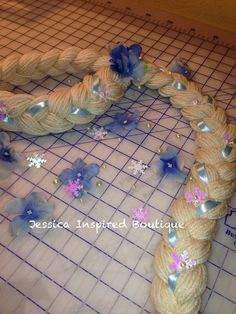 Disney Frozen Elsa Princess Braid - Elsa Inspired Braid with head band on Etsy, $19.00
