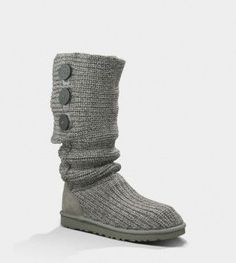 UGG Boots Grey Boots $61
