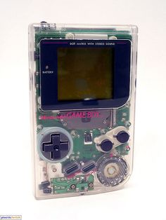 Game Boy (High Tech Transparent) c. 1995