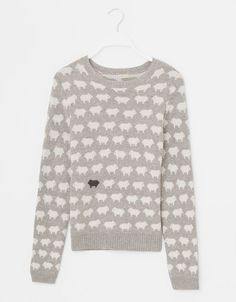black sheep sweater.