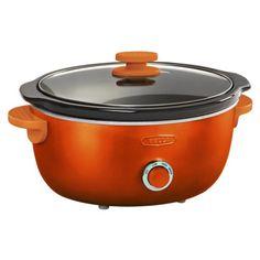 Bella Dots 6 Quart Slow Cooker - Orange. Suggested Retail Price: $39.99 #BellaDots #BellaLife