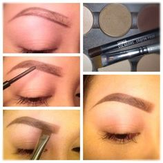 I am getting to the age where I think that I need a bit more color in my eyebrows.  She makes it look so easy!
