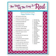 valentine games worksheets
