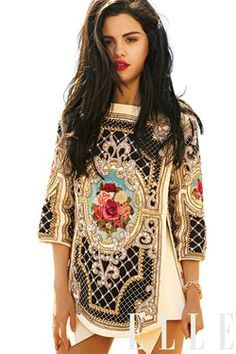 """Link for the Balmain Dress that Selena Gomez wears in her """"Come And Get It"""" music video. BEST PIN EVER!"""