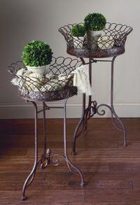 Classic Display Baskets (Set)  (Tiered Displays & Platforms)
