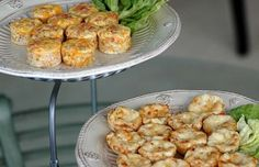 Gruyere Cheese Mini Appetizers