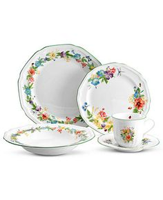 Mikasa Dinnerware, Antique Garden Collection - Casual Dinnerware - Dining & Entertaining - Macy's