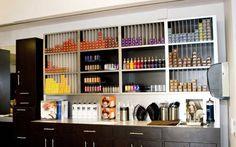 hair salon retail displays | Salon Furniture IDI: Salon and Day Spa Gallery of salon equipment and ...