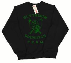 Slytherin Quidditch Team Sweatshirt | Etsy