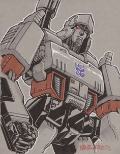 Transformers - Megatron by markerguru