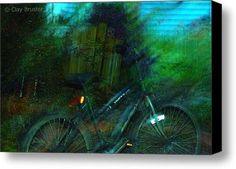 Bicycle Canvas Print / Canvas Art - Artist Clayton Bruster by Fine Art America, http://www.amazon.com/gp/product/B0069J8EHW/ref=cm_sw_r_pi_alp_eH8Cpb1RR66BB