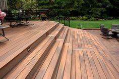 Beautiful fiberon decks on pinterest decks railings and for Fiberon horizon ipe decking