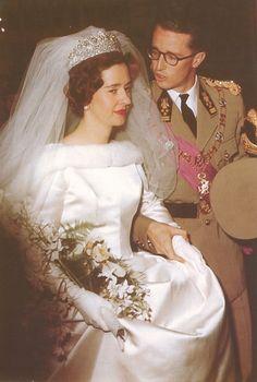 HM King Baudouin I of the Belgians and Doña Fabiola de Mora y Aragón    December 15, 1960    Brussels