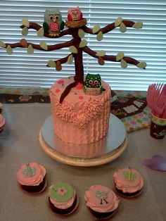 Owl baby shower or 1st bday