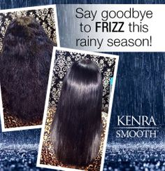 This spring, trade in your dull, frizzy hair for smooth, shiny locks. Ask your stylist about Kenra Smooth™! (Before/after by Instagram follower Fel Jimenez)