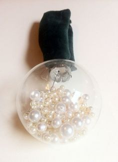 Pearl-filled Ornament