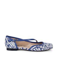 pattern flat, woman shoes, ballet flats