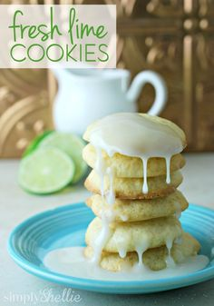 Lime and Soft Cookie