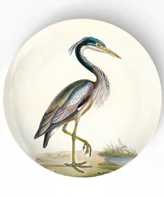 I love herons. china from Mad Platters