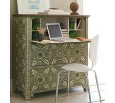 more repurposed furniture - looks great!