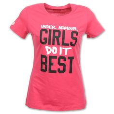 Under Armour Clothing For girls | Under Armour Girls Do It Best Women
