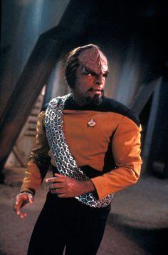 Michael Dorn, Worf of the Klingon Empire.